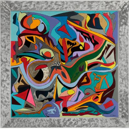 Galerie galerie d 39 art abstrait id concept couleur for Galerie art abstrait
